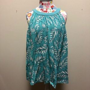 NWT Palm Frond Tank